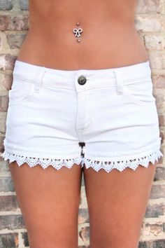 A Taste of Crochet Shorts on Wanelo