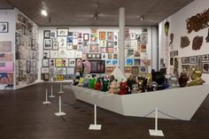 """""""At Home I'm A Tourist"""" Selim Varol displays a few of his 15,000 artist toys in Berlin"""