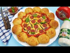 Pizza Soare - din aluat fara drojdie - YouTube Pizza, Pancakes, Breakfast, Youtube, Food, Morning Coffee, Meal, Crepes, Essen
