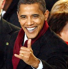 Barrack Obama Shaka, don't really like the dude, but this just made him 18% awesomer