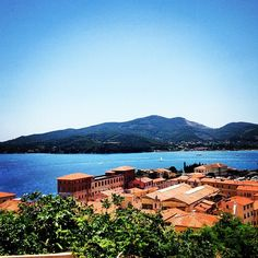 Portoferraio. Isola d'Elba. Island of Elba, Italy. Summer 2013