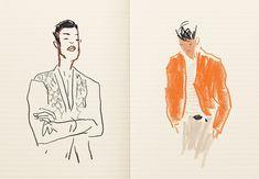Damien Cuypers: Défilé Hommes été 2015 for Hermès