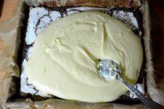 z cukrem pudrem: ciasto łaciate z masą sernikową Icing, Ice Cream, Food, Kuchen, No Churn Ice Cream, Icecream Craft, Essen, Meals, Yemek