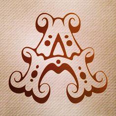 102/365 una histórica A para mi amigo @yoandresaguilar #365rounds #365typerounds #typography #customtype #goodtype #thedailytype #ilovetypography #goodletters #letterdesign #type #typedesign