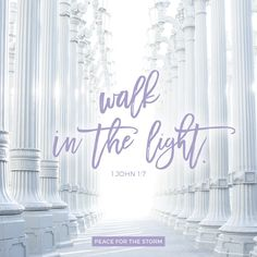But if we walk in the light as He is in the light, we have fellowship with one another, and the blood of Jesus Christ His Son cleanses us from all sin. 1 John 1:7 (NKJV)