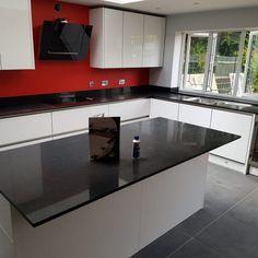 Nero Venata- Broxbourne, Herts - Rock and Co Granite Ltd Window Sill, Granite, Kitchen Cabinets, Room, Home Decor, Bedroom, Decoration Home, Room Decor, Kitchen Cupboards
