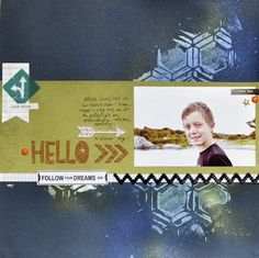 Created using the August kit from Cocoa Daisy. www.cocoadaisy.com #scrapbooking