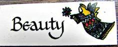 Angel card - Beauty