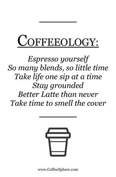 Coffeeology                                                                                                                                                                                 More