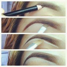 Eyebrow Highlighting & Perfecting!