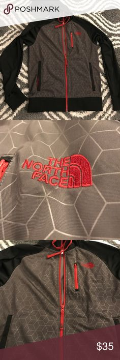 Men's Small North Face Jacket with Hood Excellent condition! No rips tears or stains! Awesome pattern design as shown in pics! The North Face Jackets & Coats Lightweight & Shirt Jackets