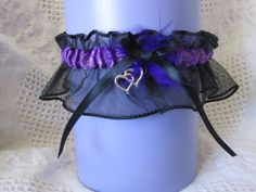 Wedding and Prom Garter by stefaniejames on Etsy, $15.00
