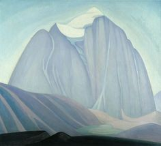Lawren S. Harris - Le mont temple - 1925 - 122 x cm Group Of Seven Artists, Group Of Seven Paintings, Emily Carr, Canadian Painters, Canadian Artists, Abstract Landscape Painting, Landscape Paintings, Tom Thomson Paintings, Montreal Museums