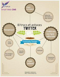 10 points à surveiller pour optimiser votre utilisation de Twitter - Infographie sur le métier de gestionnaire de communautés
