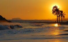Saatchi Online Artist Mark Stocks; Photography, Puesta de Sol Playa Nares #art