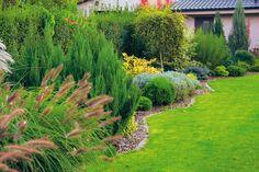 okrasná zahrada před domem - Hledat Googlem
