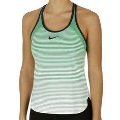 Nike Womens Tennis Tank Top - Nike Nike Court Premier Slam Breathe Yellow/Obsidian/Obsidian Q13v8105