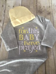 Hey, I found this really awesome Etsy listing at https://www.etsy.com/listing/223278103/for-this-little-baby-we-have-prayed-gown