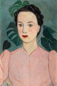 Portrait d'une dame en rose (Einar Jolin, 1939)