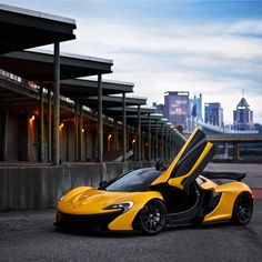 McLaren P1 painted in Volcano Yellow  Photo taken by: @aaltomotive on Instagram (@R8pro on Instagram is the owner of the car)