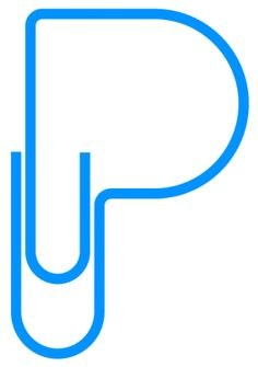 paperclip P