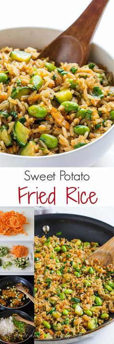 This simple, yet flavorful veg fried rice recipe is perfect side for any protein. Lots of veggies, lots of flavor and lots of texture going on here!