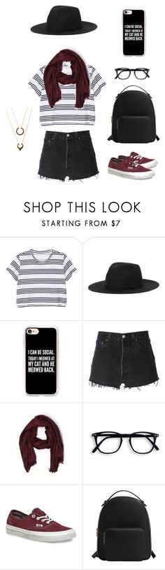 """You can be anyone you want to be, with the right clothes"" by valeria-vier on Polyvore featuring moda, Monki, Casetify, RE/DONE, Aerie, Vans, MANGO y WithChic"