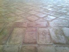 Trattamento pavimento in cotto CARTEGGIATO. Cantiere Roma