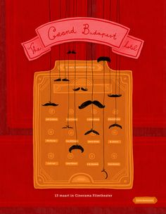 The Grand Budapest Hotel. Illustrated by Leonie Hammerstein.