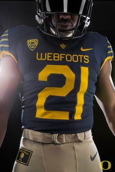 2016 Oregon Spring Game Uniforms (Webfoots) Sports Uniforms a6d064f8b