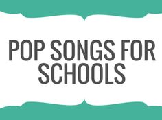 Music education links: Pop songs for schools for Music teachers. Pop Songs For Kids, Fun Songs, Music For Kids, Kids Songs, Music Songs, Guitar Songs, Music Teachers, Music Classroom, Teaching Music