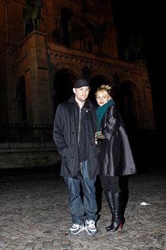 Nicole Richie and Joel Maddens Parisian date