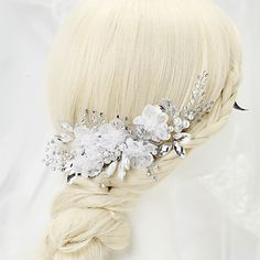Women's/Flower+Girl's+Rhinestone/Alloy/Imitation+Pearl+Headpiece+-+Wedding/Special+Occasion+Hair+Combs+1+Piece+–+USD+$+17.99