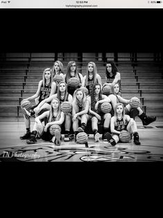 Girls basketball, team pictures, sports photography,