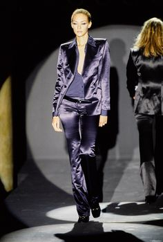 Gucci Fall 1995 Ready-to-Wear Fashion Show - Chrystèle Saint Louis Augustin