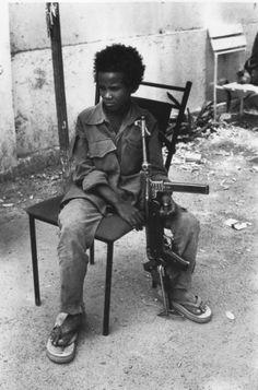 Child  Soldier - R. Depardon, Chad, March 1980