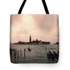 Other Venice 2 Tote Bag by Marina Usmanskaya.  The tote bag is machine washable, available in three different sizes, and includes a black strap for easy carrying on your shoulder.  All totes are available for worldwide shipping and include a money-back guarantee #MarinaUsmanskayaFineArtPhotography , Art For Home,Art Prints, venice,Italy,Home Design