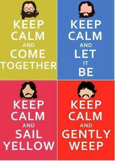Well put, John, Paul, Ringo & George. / loving this pin