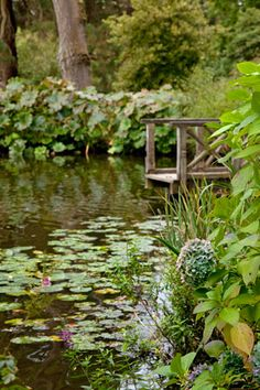 1000 images about victoria magazine on pinterest for Koi pool thornton
