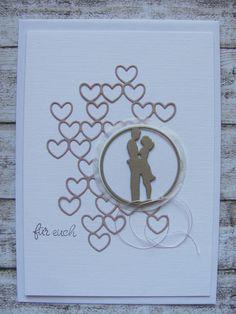 Hochzeit - Hochzeitskarte - ein Designerstück von Inifee bei DaWanda