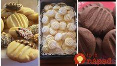 Pudingové sušienky s chuťou vanilky a kakaa: Nepotrebujete žiadne formičky a vianočné pečivo bude vyzerať úžasne! Muffin, Vegetables, Breakfast, Food, Basket, Morning Coffee, Muffins, Meal, Essen