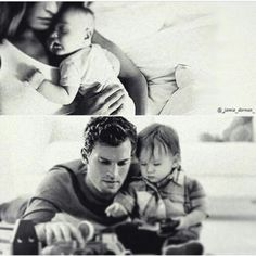 Christian and Ana with their kids.