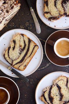 Chocolate Babka Bakealong via @kingarthurflour