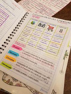 ¿Has probado este Pin? School Organization Notes, Study Organization, Bullet Journal Notes, Bullet Journal School, College Notes, School Notes, School Motivation, Study Motivation, School Suplies