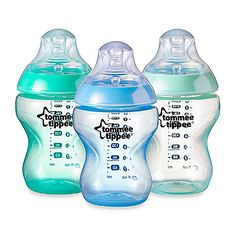 The innovative Closer to Nature Baby Bottle by Tommee Tippee is specially designed to make switching between breast and bottle feeding easier for you and your baby. Its compact shape allows feeding in a more natural position and is easy to hold.
