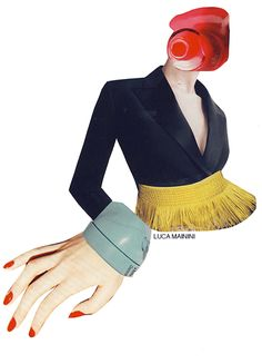fashion illustration collage - Google Search