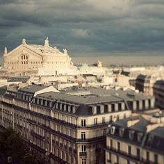 tilt shift lense, Paris