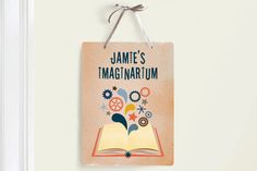 Fun room decor signs for kids at Minted