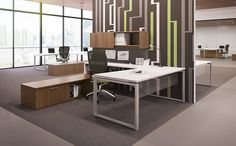 Priority supports every type of work environment while giving you the choice to select only the specific features that you need such as storage and filing. Priority by Kimball Office.