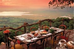 Ngorongoro Crater Lodge luxury safari lodge in Tanzania give phenomenal views over the most fascinating volcanic calderas in the world. Find out more with Turquoise Holidays. World's Most Beautiful, Beautiful World, Beautiful Places, Stunning View, Beautiful Scenery, Amazing Places, Beautiful Hotels, Absolutely Gorgeous, Hotel Et Spa